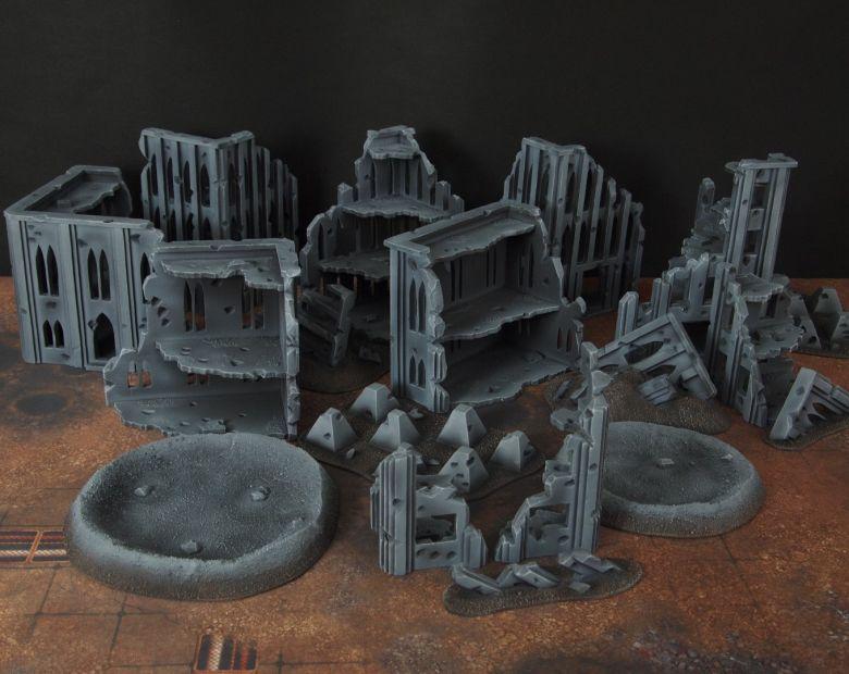 Warhammer 40k terrain fallout cityfight overview 1 2