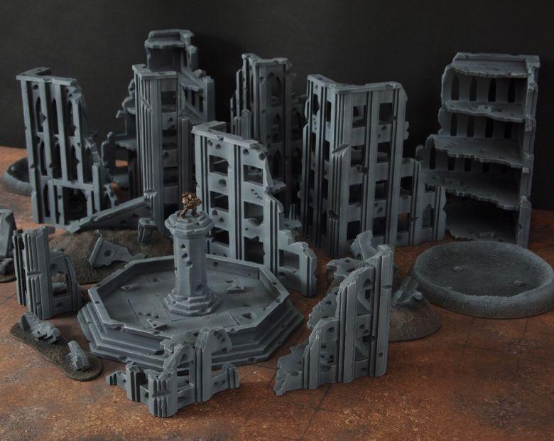 Warhammer 40k terrain fallout cityfight overview 2 1
