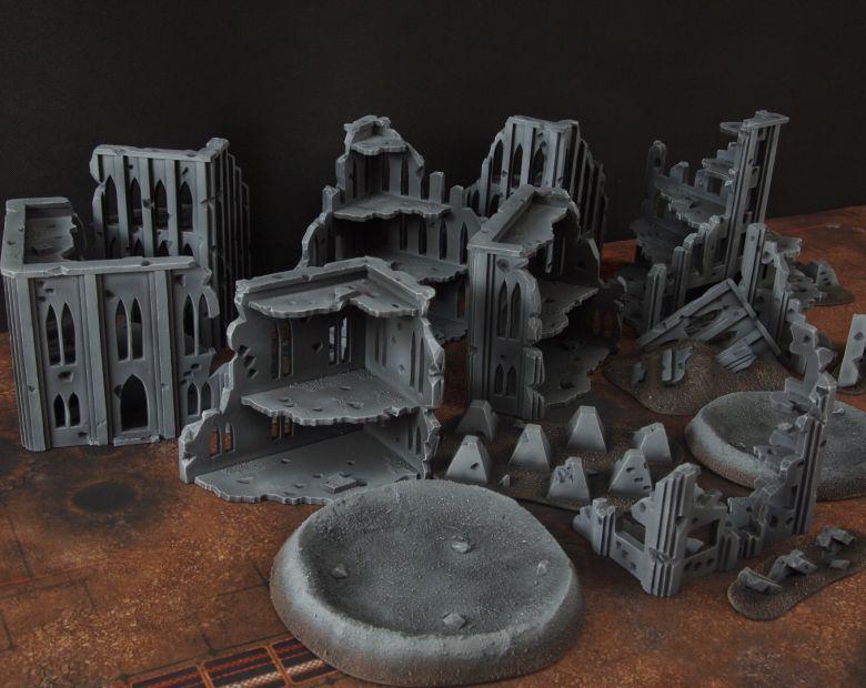 Warhammer 40k terrain fallout cityfight overview 2 3