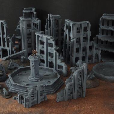 Fallout cityfight 2 - WargameTerrainFactory - Miniatures War Game Terrain & Scenery