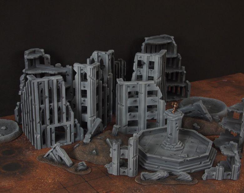 Warhammer 40k terrain fallout cityfight overview 3 1