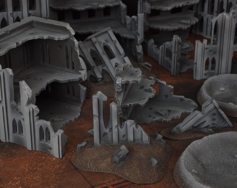 Warhammer 40k terrain fallout cityfight rubble 1 1