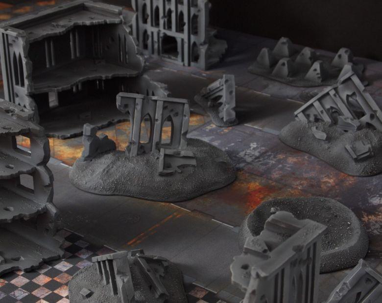 Warhammer 40k terrain fallout cityfight ruins 1 1