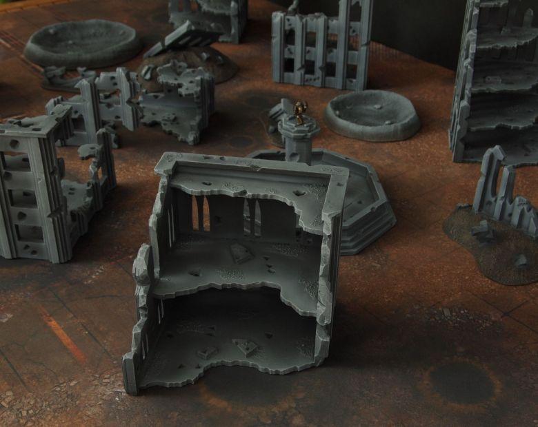 Warhammer 40k terrain fallout cityfight ruins 1 3
