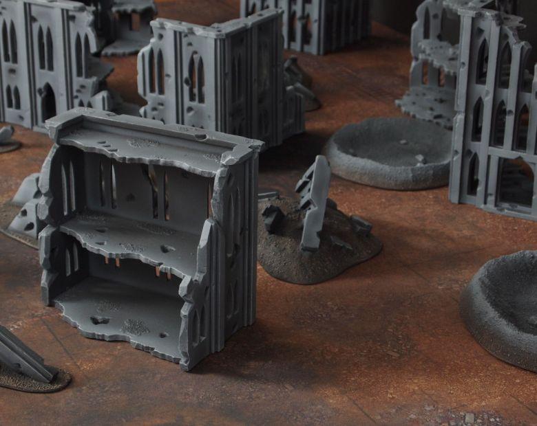 Warhammer 40k terrain fallout cityfight ruins 1 5
