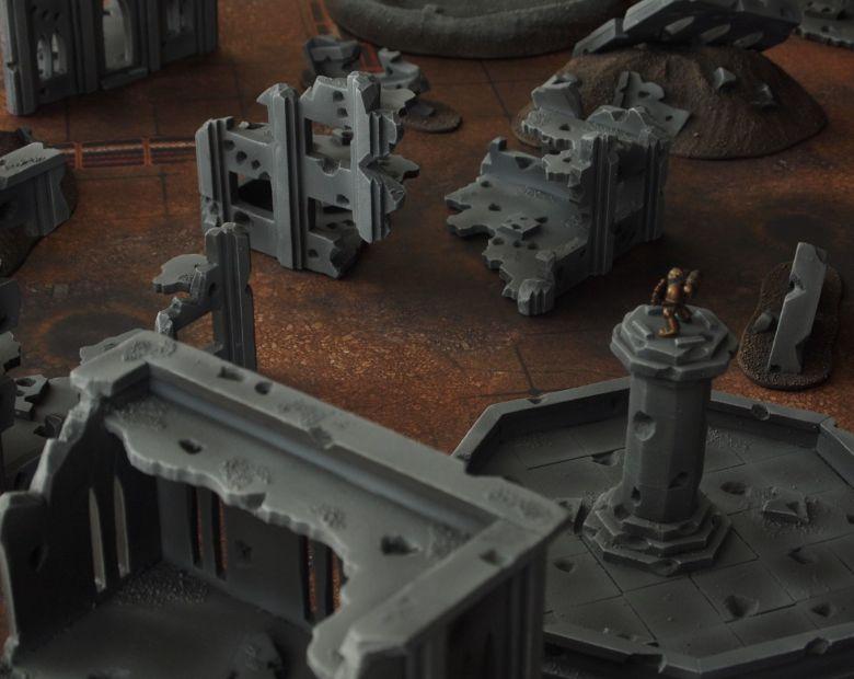 Warhammer 40k terrain fallout cityfight ruins 2 2