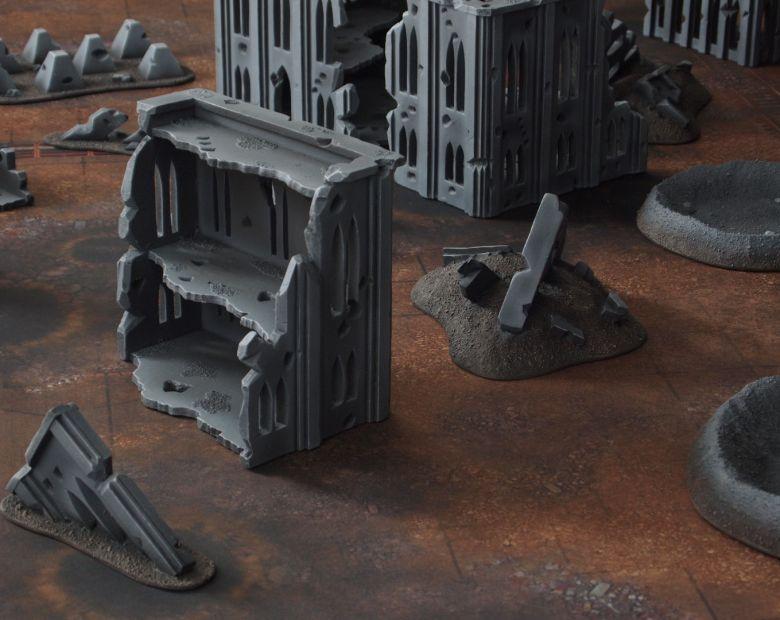 Warhammer 40k terrain fallout cityfight ruins 2 4