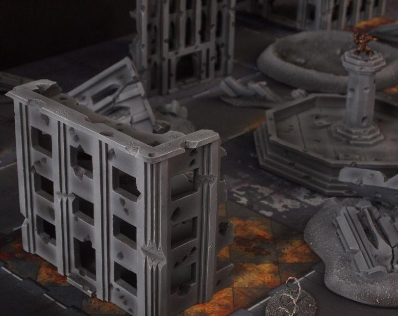 Warhammer 40k terrain fallout cityfight ruins 2