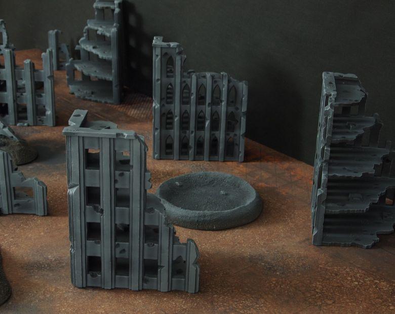Warhammer 40k terrain fallout cityfight ruins 3 3