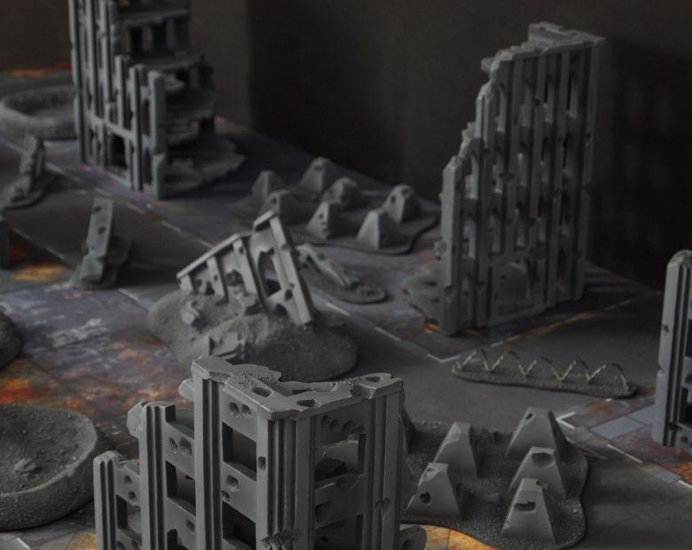 Warhammer 40k terrain fallout cityfight ruins 3