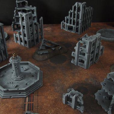 Fallout cityfight 3 - WargameTerrainFactory - Miniatures War Game Terrain & Scenery