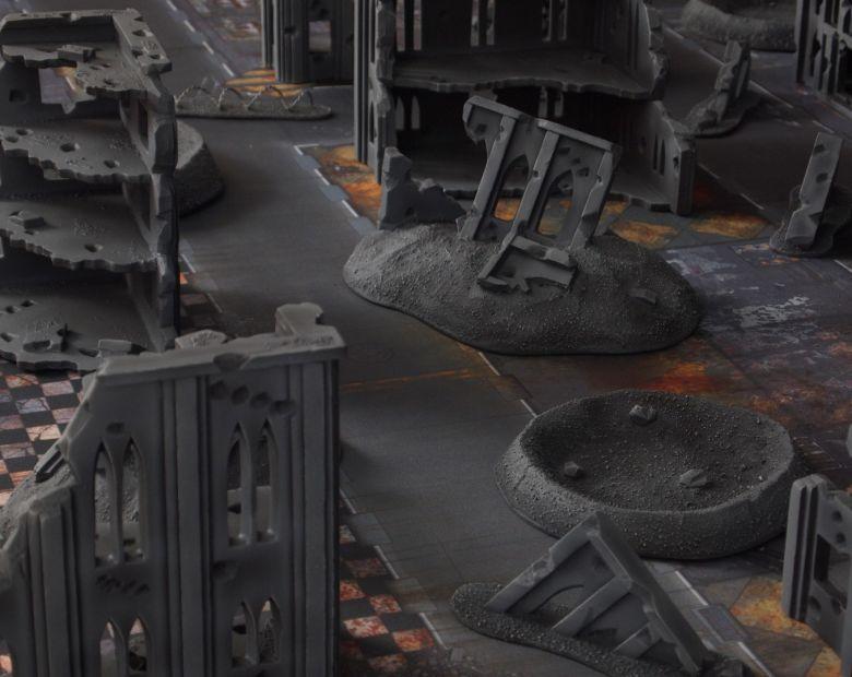 Warhammer 40k terrain fallout cityfight ruins 4