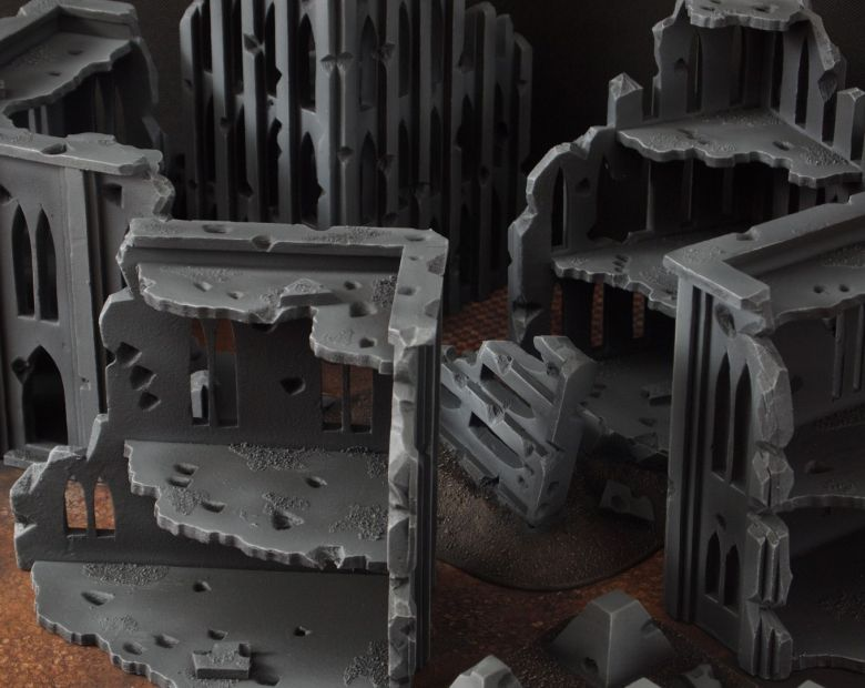 Warhammer 40k terrain fallout cityfight ruins 5 4