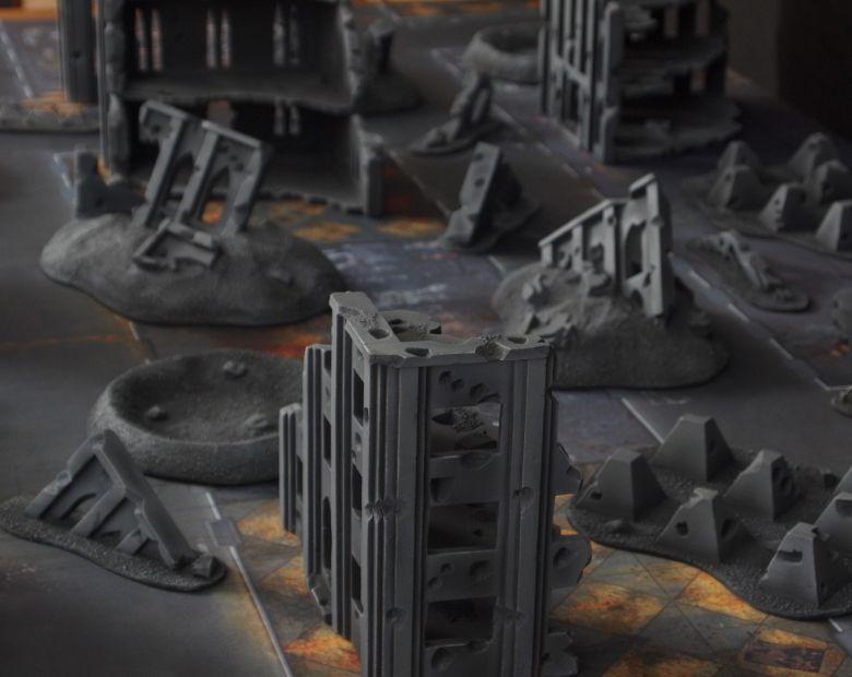 Warhammer 40k terrain fallout cityfight ruins 5