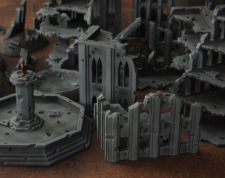 Warhammer 40k terrain fallout cityfight ruins 6 1