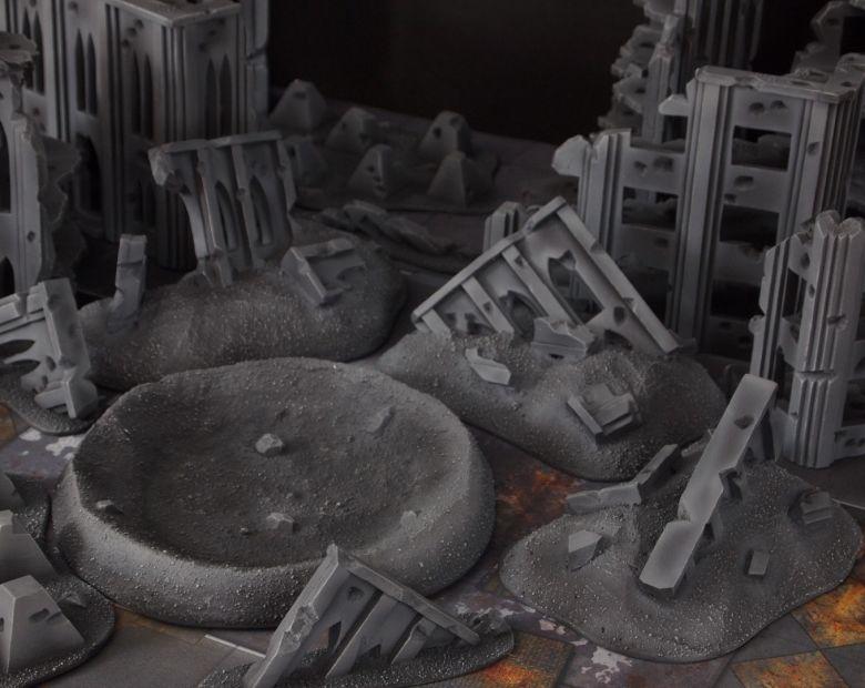 Warhammer 40k terrain fallout cityfight ruins rubble 2 1
