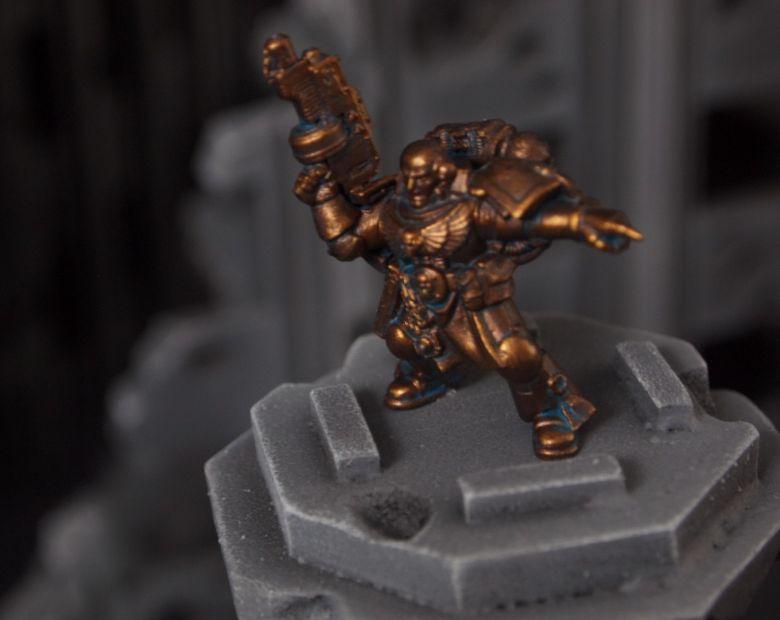 Warhammer 40k terrain fallout cityfight ruins stature brazen brass space marine
