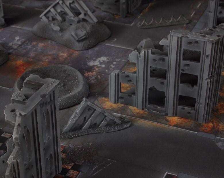 Warhammer 40k terrain fallout cityfight ruins warhammer 40k terrain fallout cityfight ruins 2