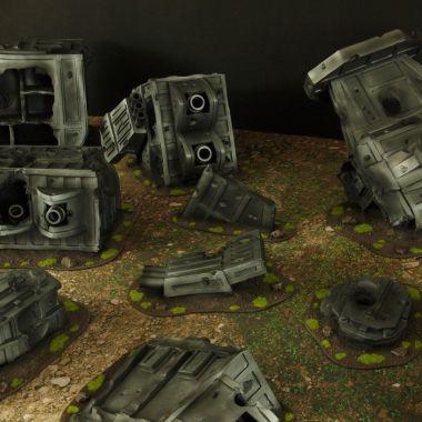 Strike cruiser XL - WargameTerrainFactory - Miniatures War Game Terrain & Scenery