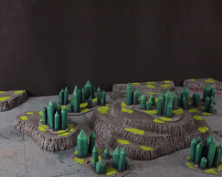 Warhammer 40k terrain necron set 1