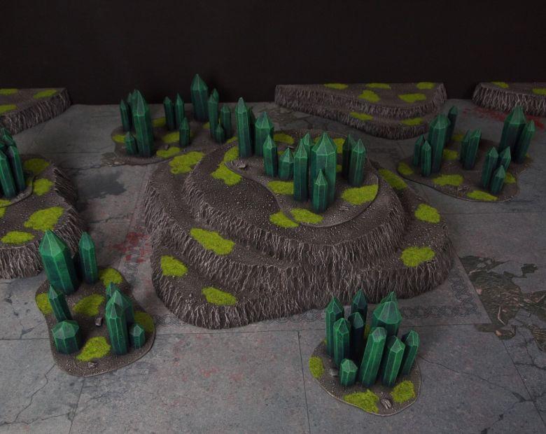 Warhammer 40k terrain necron set 10