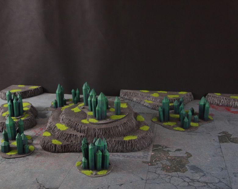 Warhammer 40k terrain necron set 2