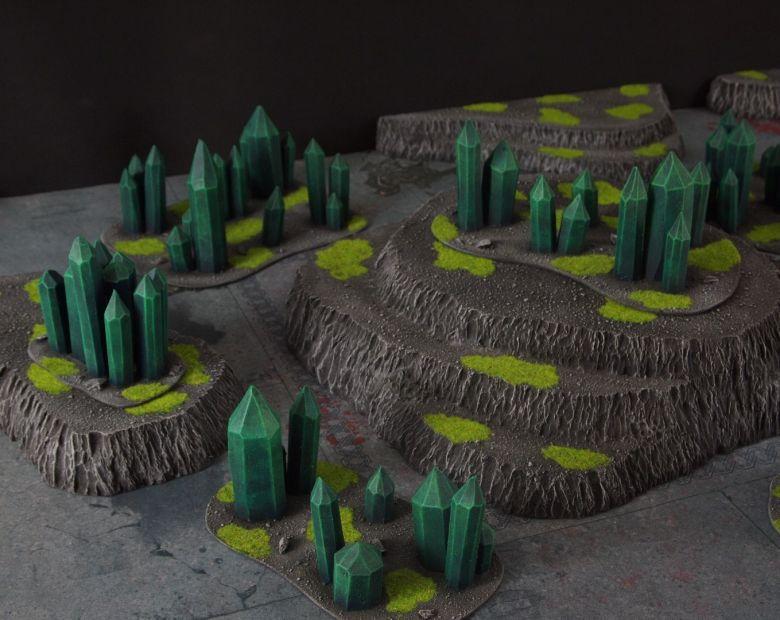 Warhammer 40k terrain necron set 3