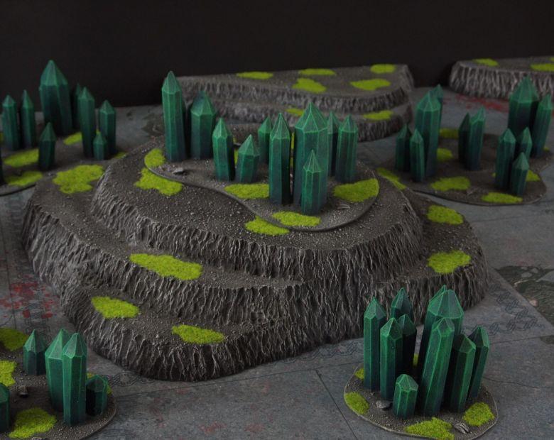 Warhammer 40k terrain necron set 4