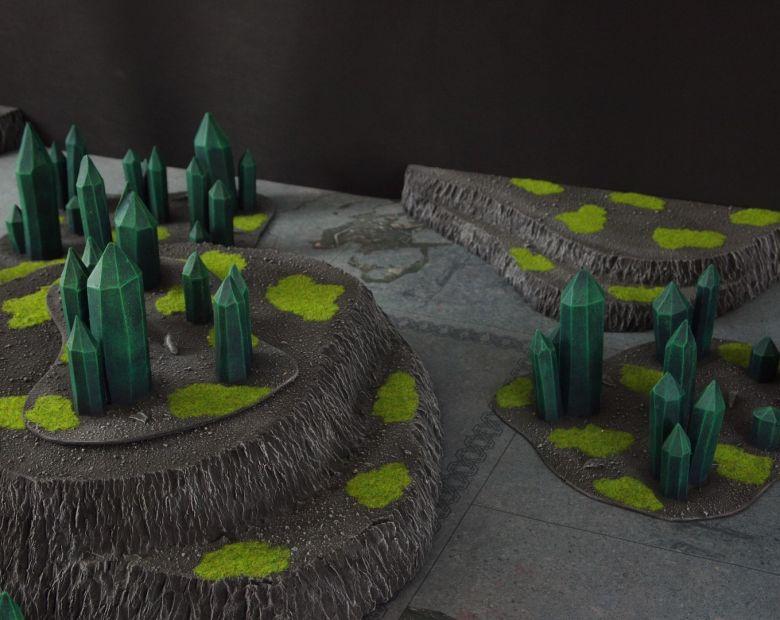 Warhammer 40k terrain necron set 5