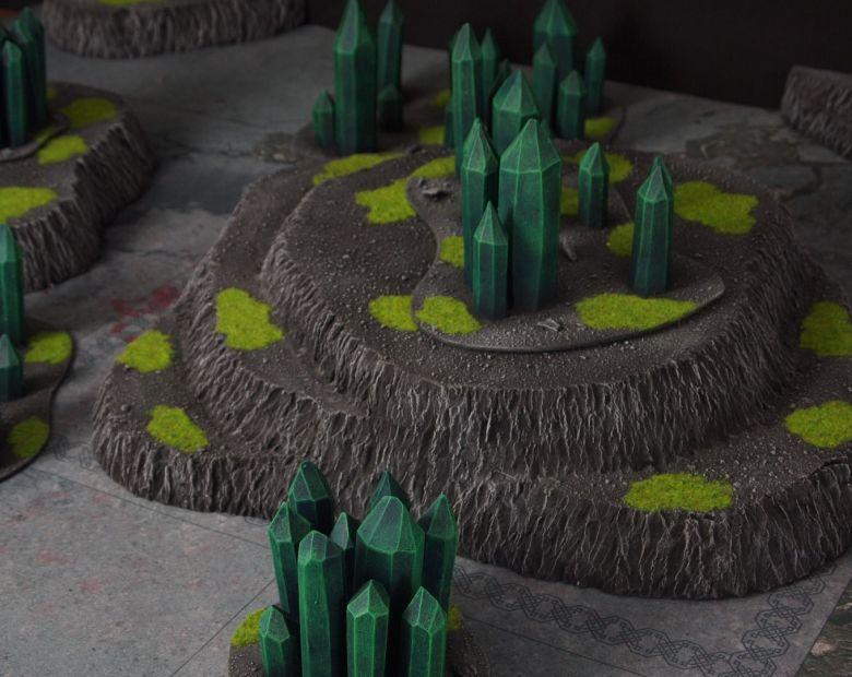 Warhammer 40k terrain necron set 7 1