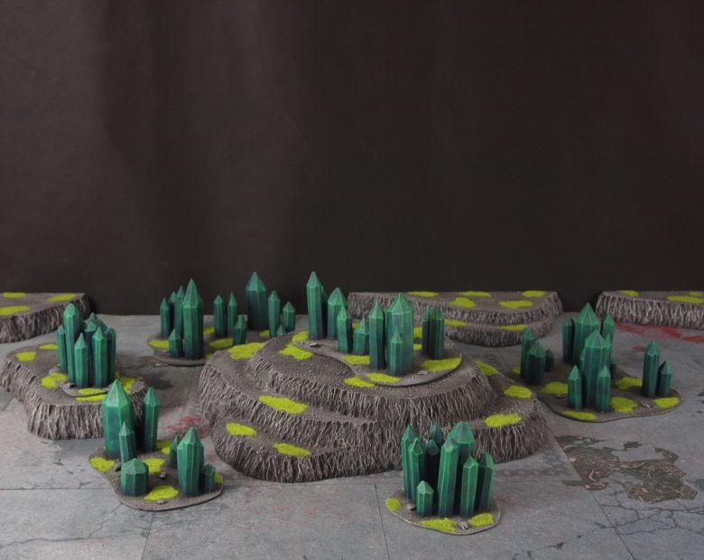 Warhammer 40k terrain necron set