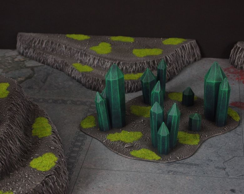 Warhammer 40k terrain necron set 8