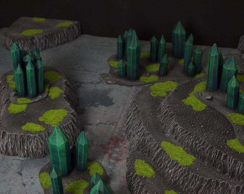 Warhammer 40k terrain necron set 9