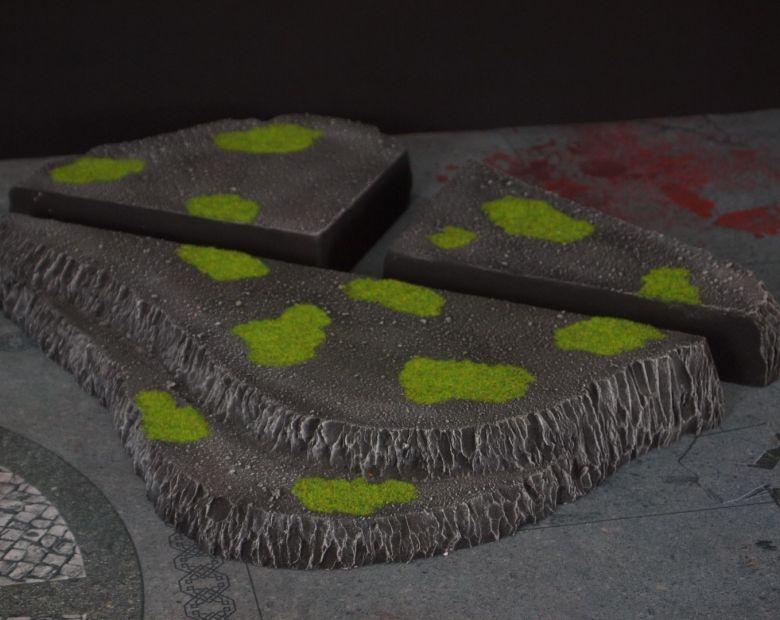 Warhammer 40k terrain necron set hill 2