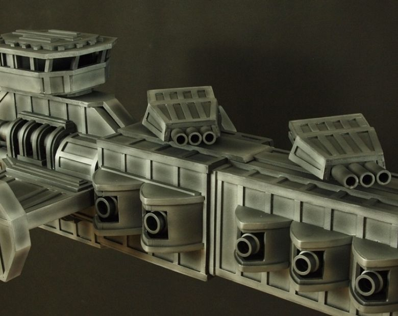 Warhammer 40k terrain strike cruiser navy 3