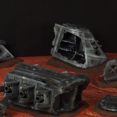 Strike Cruiser Mars - WargameTerrainFactory - Miniatures War Game Terrain & Scenery