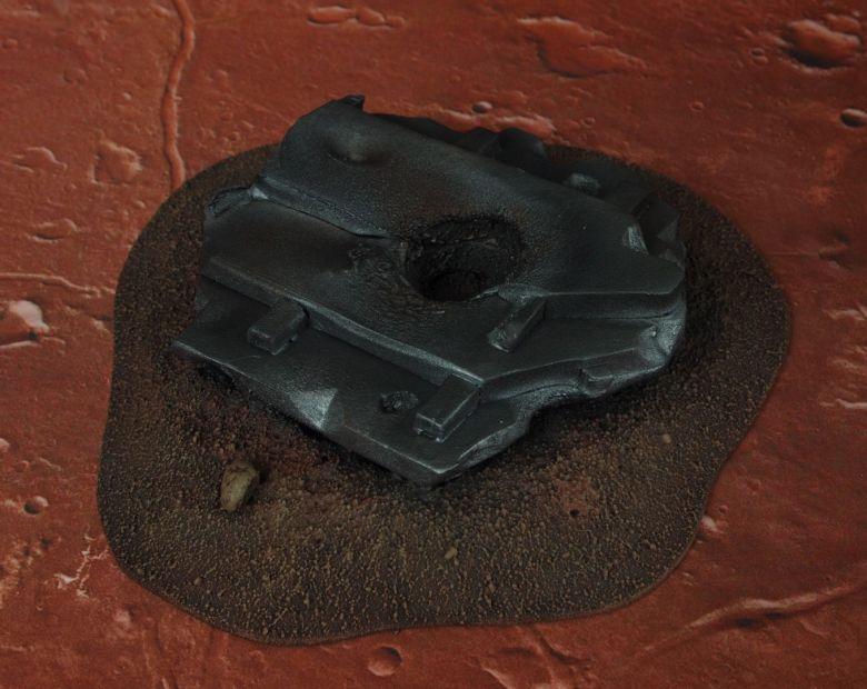 Warhammer 40k terrain wrecked cruiser bridge roof 1