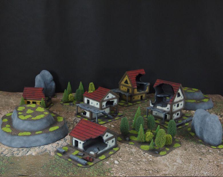 Warhammer fantasy sigmar terrain set 1 2