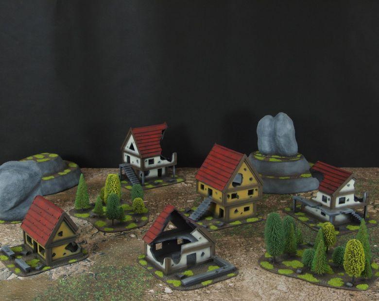 Warhammer fantasy sigmar terrain set 1 3