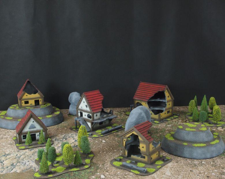Warhammer fantasy sigmar terrain set 1