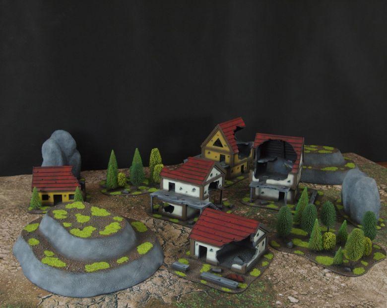 Warhammer fantasy sigmar terrain set 2 1
