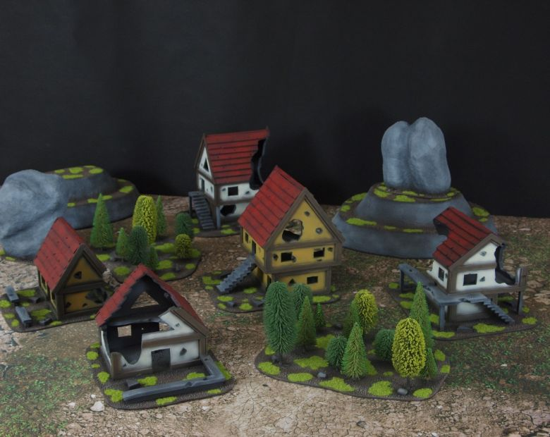 Warhammer fantasy sigmar terrain set 2 2
