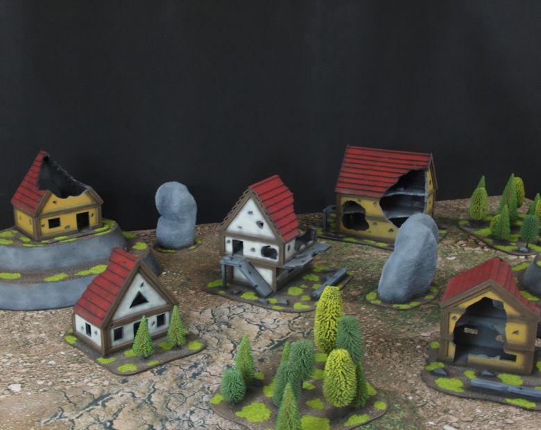 Warhammer fantasy sigmar terrain set 2