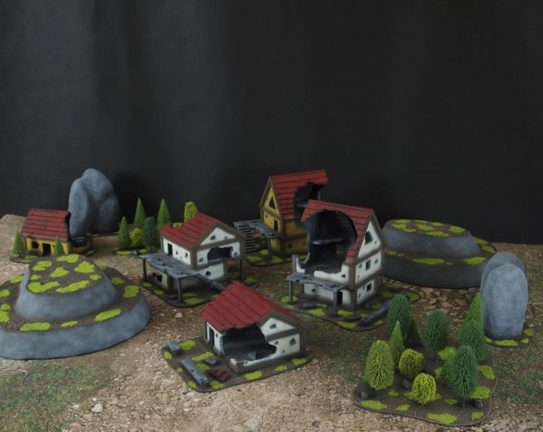 Warhammer fantasy sigmar terrain set 3 1