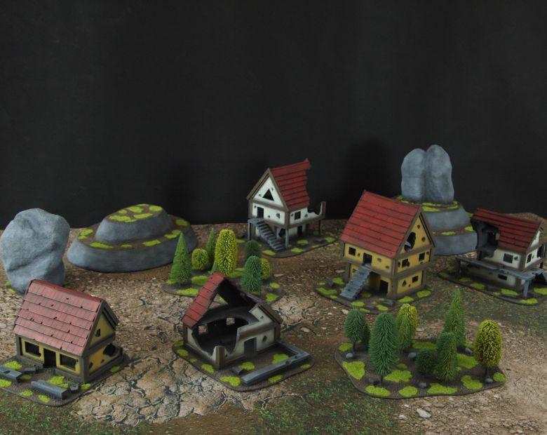 Warhammer fantasy sigmar terrain set 3 2