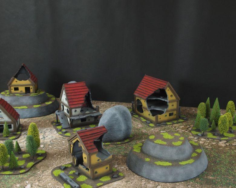 Warhammer fantasy sigmar terrain set 3