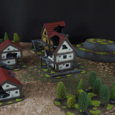 Fantasy terrain set 2 - WargameTerrainFactory - Miniatures War Game Terrain & Scenery