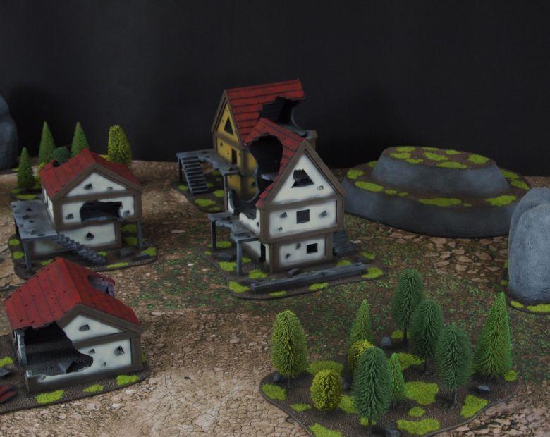 Warhammer fantasy sigmar terrain set 4 1