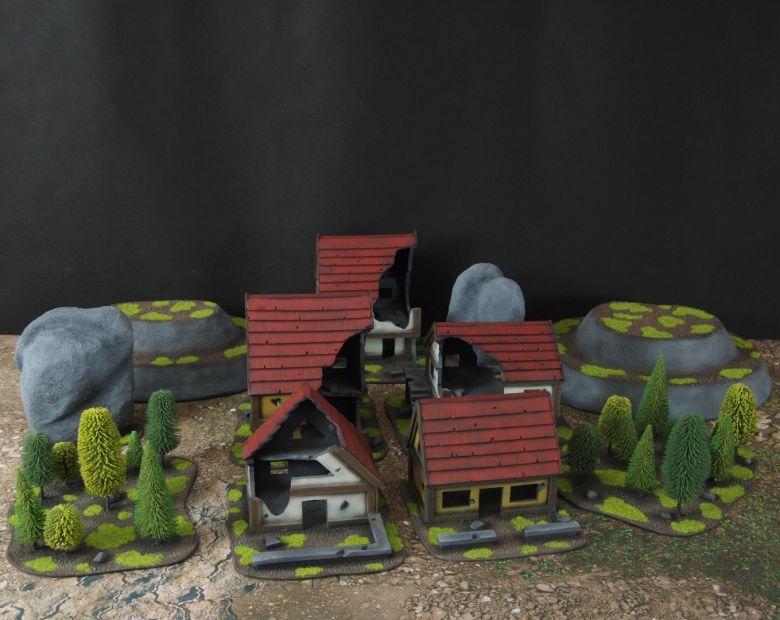 Warhammer fantasy sigmar terrain set 4 2