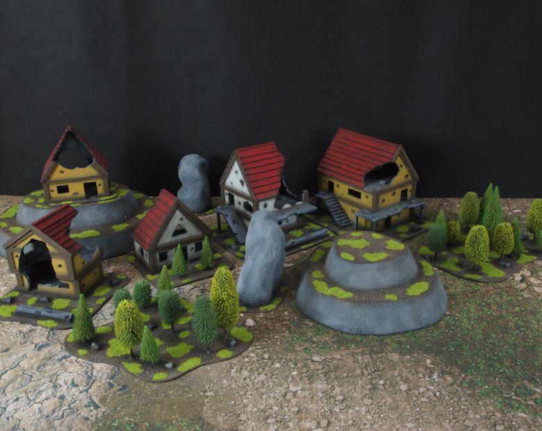Warhammer fantasy sigmar terrain set 4